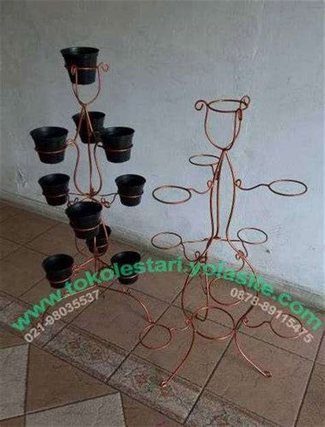 Rak Pot Besi dinomarket pasardino jual standing besi tanaman 10 pot