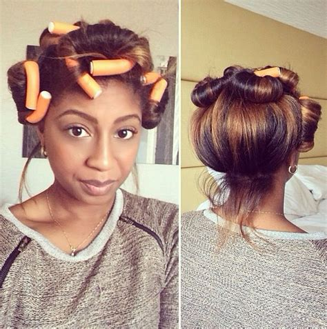 pin up hairstyles natural color 167 best images about flexi rods on natural hair on pinterest