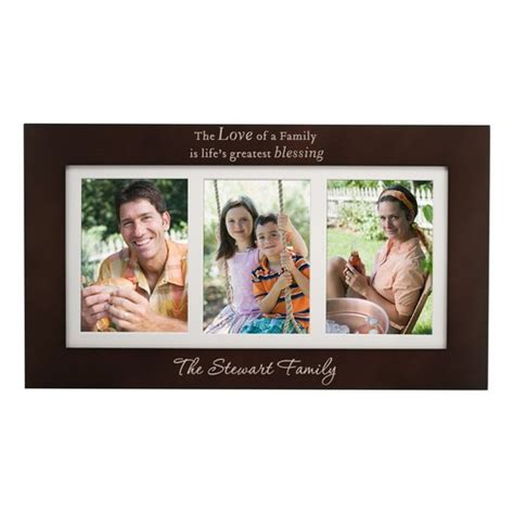 family picture frames blessings personalized 5x7 family picture frame