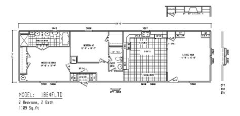 clayton mobile homes floor plans single wide home flo