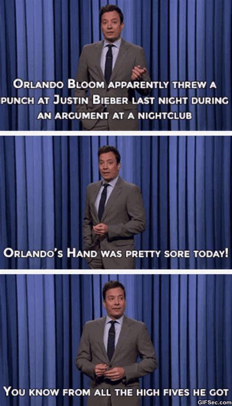 Orlando Bloom Meme - orlando bloom vs justin bieber punch gif viral viral videos