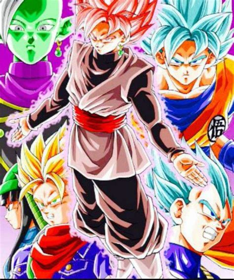 Black Saga saga de los androides vs saga de black goku trunks