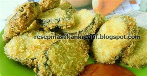 resep terong goreng tepung enak crispy aneka resep