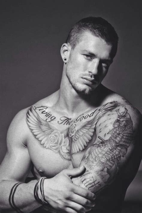 good tattoos for guys there s just something about a looking with ink