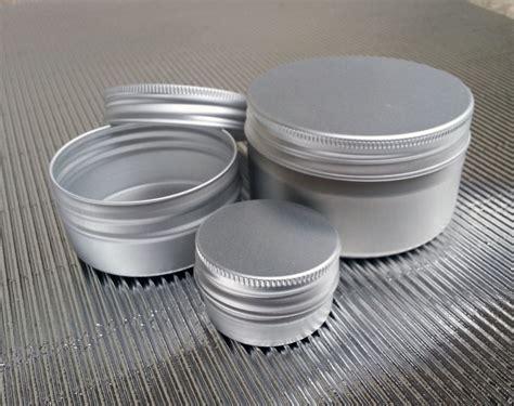 vasi alluminio vasi in alluminiocon tappo a vite biolaboratorio fattiamano