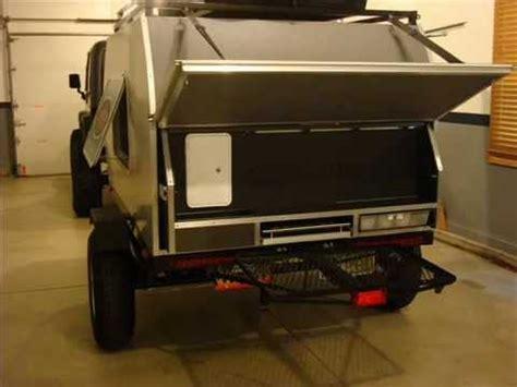 Retro Camper by Off Road Teardrop Trailer Slide Out Kitchen By Ty Dean