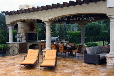 Italian Inspired Outdoor Living Mediterranean Patio Italian Patio Design