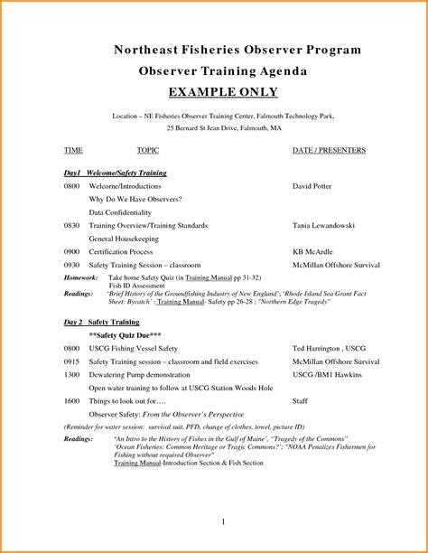 agenda template doc resume for teaching profile sample fax cover