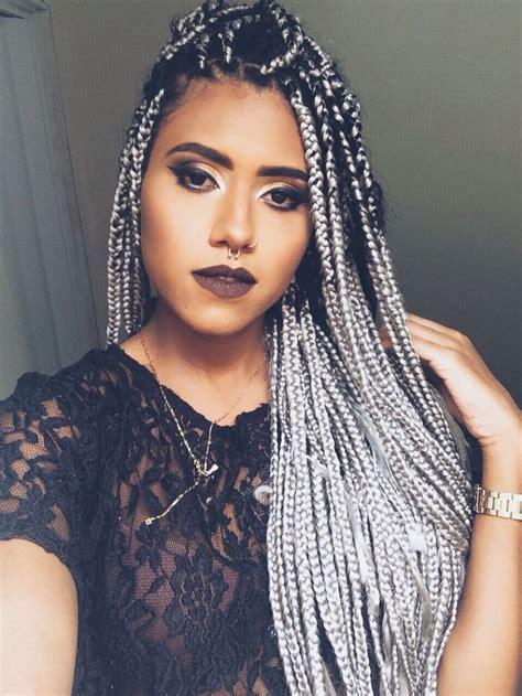 grey braids pinterest box braids grey afrohair box braids pinterest