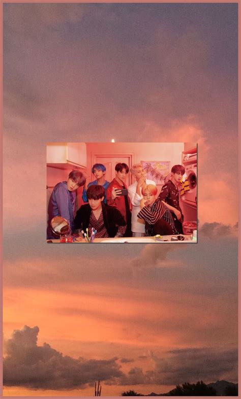 btspeachaesthetic bts aesthetic wallpaper