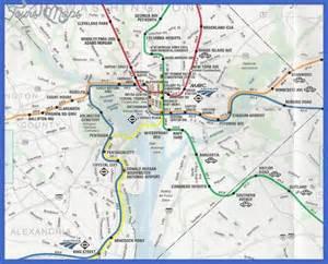 washington dc rail map washington metro map toursmaps
