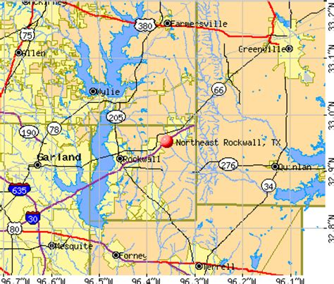 rockwall texas map northeast rockwall texas tx 75189 profile population maps real estate averages homes