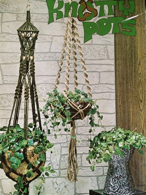 part 2 learn macrame diy vintage 1970 s macrame patterns