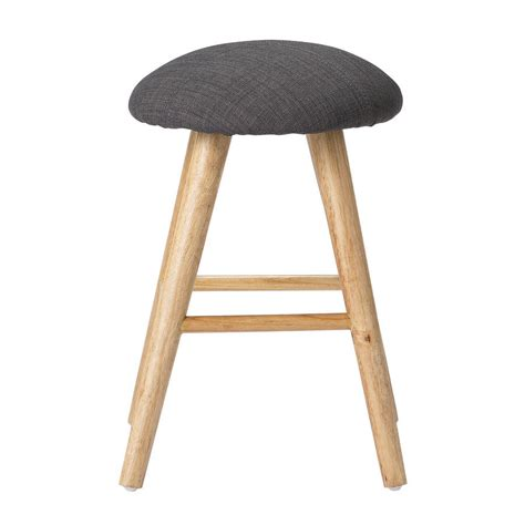 Upholstered Stool by Upholstered Stool In Three Sizes By Out There Interiors Notonthehighstreet