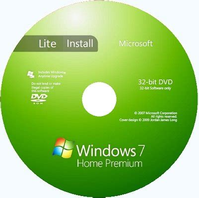 Windows 7 Home Premium Lite by Microsoft Windows 7 Sp1 Homepremium X86 Ru Lite Basis By