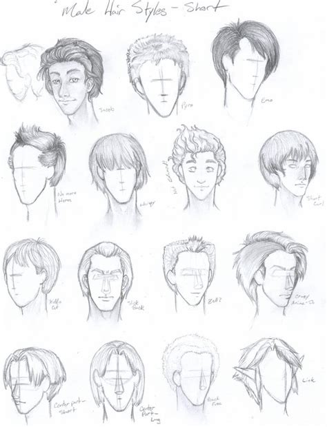 anime hairstyles hd anime boy hairstyles by pmtrix on deviantart hot girls