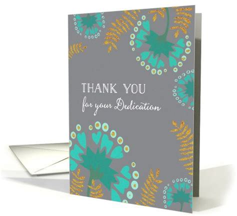 Employee Anniversary Cards happy anniversary employee thank you for your dedication