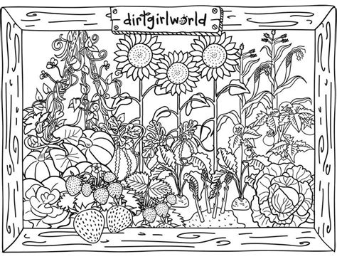 40 Best Images About Coloring Pages On Pinterest Gardens Vegetable Garden Coloring Pages