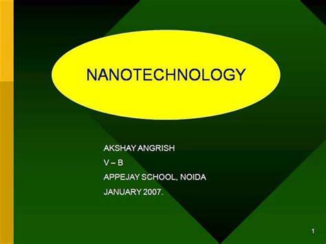 ppt templates for nanotechnology nanotechnology authorstream