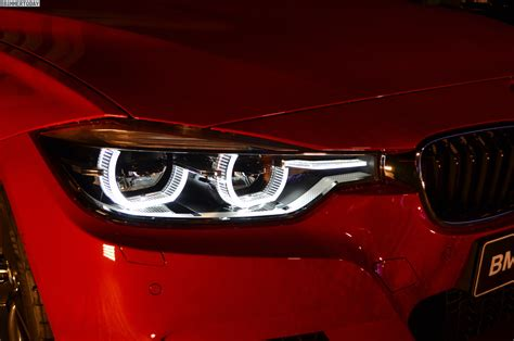 bmw headlights 3 series see the led lights of 2015 bmw 3 series facelift
