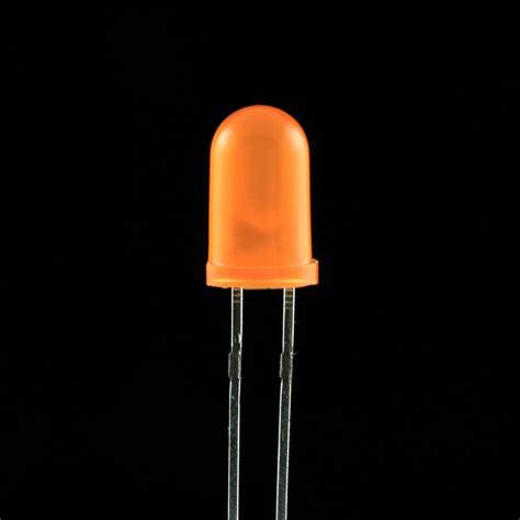 led 5mm orange pack of 10 artekit