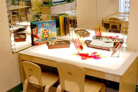 reggio emilia light table light table reggio emilia inspired preschool studio