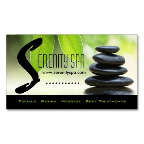 231 best images about spa business cards on pinterest