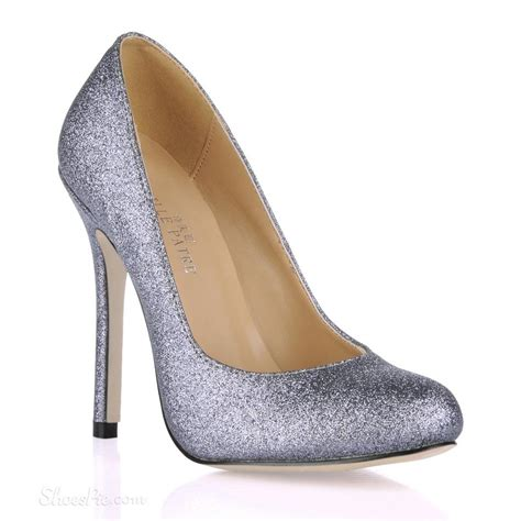 new design grey stiletto heels closed toe prom evening