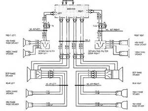 wiring diagram 6 speakers 4 channels wiring get free