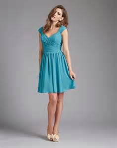 bridesmaid dresses with teal chocolate color flower