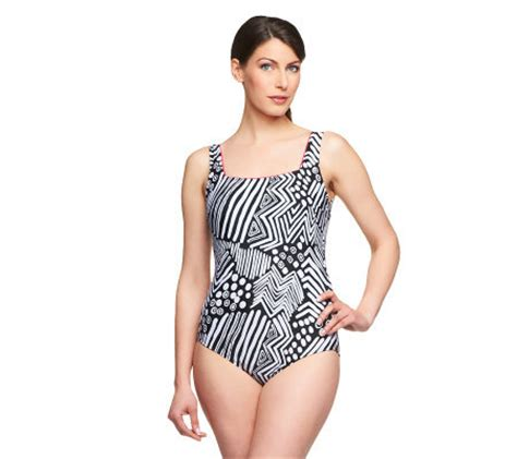 silver by gottex swimwear silver by gottex tribal dance 1 piece swimsuit page 1