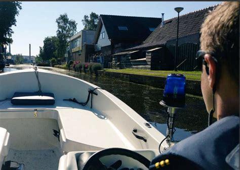vaarbewijs gestolen politie actief op het water woerden tv