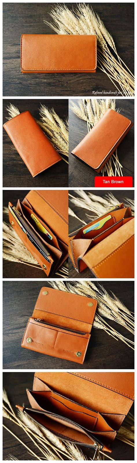 Leather Handmade - 17 best ideas about handmade leather wallet on
