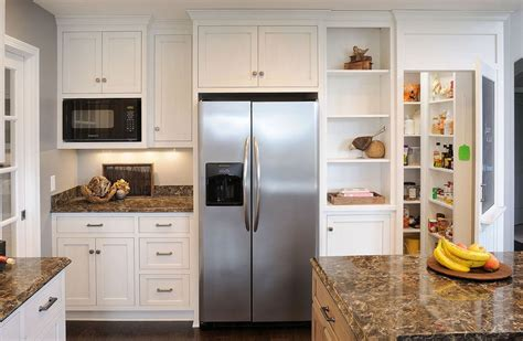Freestanding Kitchen Cabinet by Built In Vs Freestanding Refrigerators Choose What S