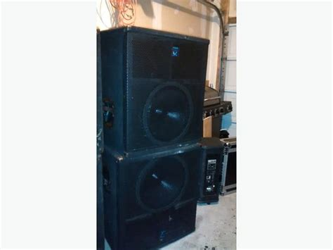 Speaker 18 Inch Ads 1870 800 Watt yorkville ls808 passive subwoofer one pair of used sub 800 watt each gloucester ottawa