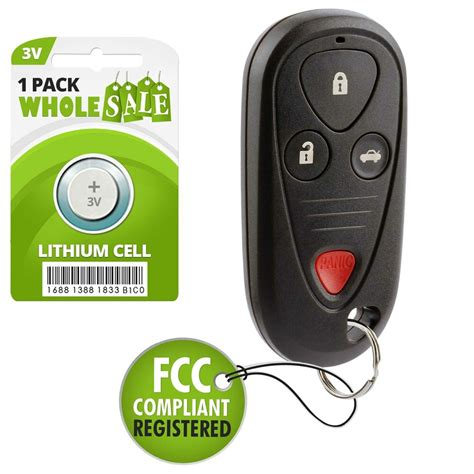 replacement     acura tl car key fob remote