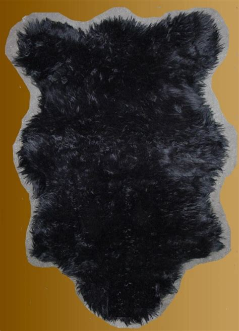 black fur rugs black faux fur rug rugs sale
