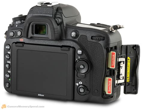 Memory Card Nikon Nikon D750 Sd Card Comparison Write Speed Test And