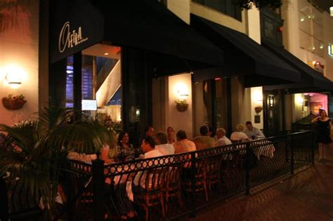 The Fish House San Diego beautiful dining patio even more beautiful during the