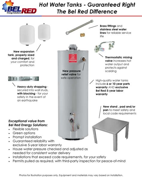 water heater installation guidelines mybuilders org
