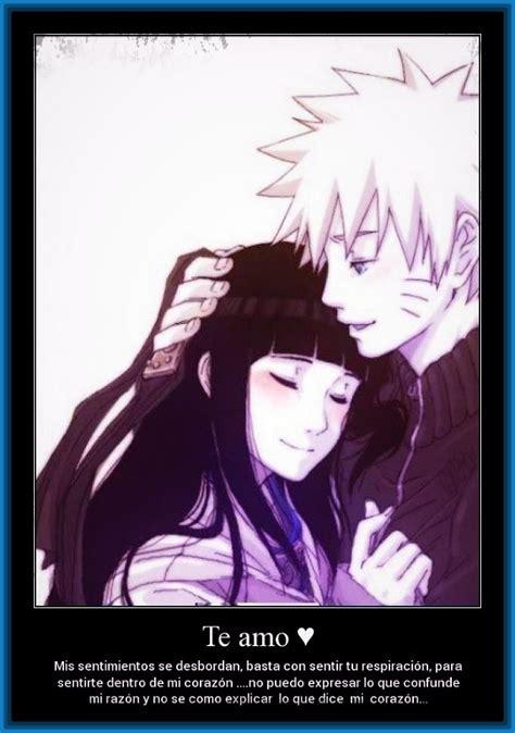 imagenes de amor de anime fotos de amor anime con frases de quot naruto quot imagenes de anime