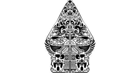 vector gunungan wayang cdr png hd gudril logo tempat