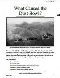 the dust bowl worksheet dust bowl worksheet photos getadating