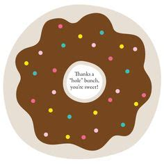 printable tags with holes thanks a quot hole quot bunch donut printable donut holes the o