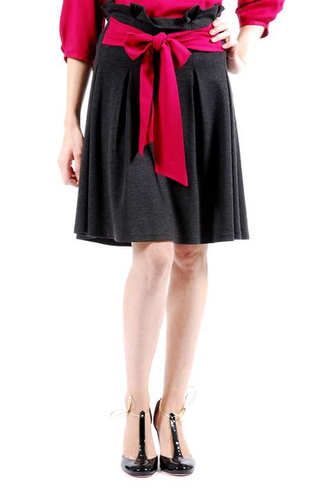 high waist pleated skirt shoptiques