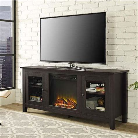 60 inch tv stand with fireplace walker edison 60 inch tv stand with electric fireplace