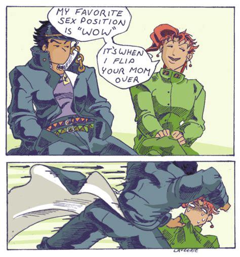 Jojo S Bizarre Adventure Meme - i don t think dio will the the one killing kakyoin jojo