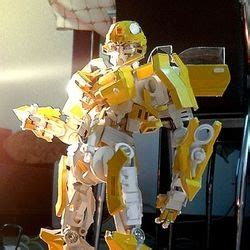 How To Make A Paper Transformer Bumblebee - can t afford your own transformers well why not
