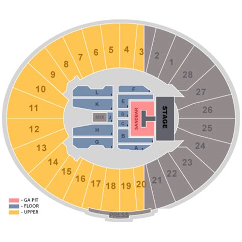 bowl seating view kenny chesney and jason aldean july 25 tickets pasadena