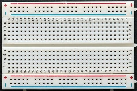 breadboard circuit practice how to learn to use a breadboard quora